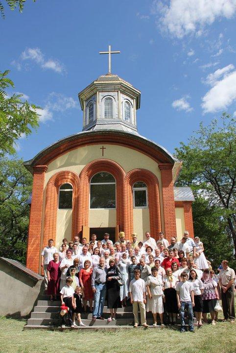 Открытие храма УГКЦ в Горловке