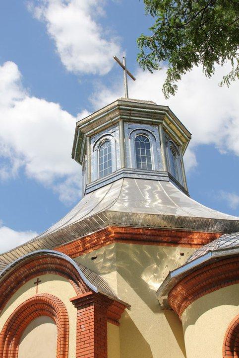 Храм УГКЦ в Горловке
