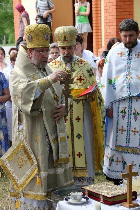 Освящение Храма УГКЦ в Горловке
